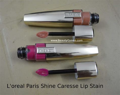 Harga L Oreal Shine Caresse l oreal shine caresse lip stain pretty 900
