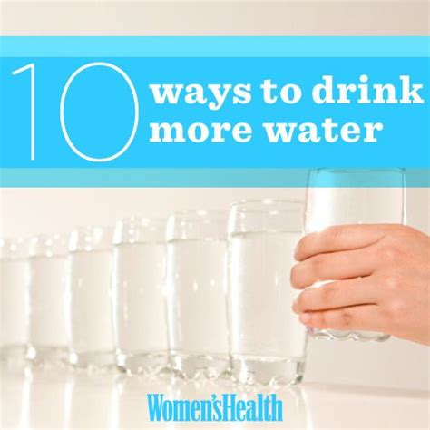7 Ways To Drink More Water by 17 Best Images About Healthy On Your