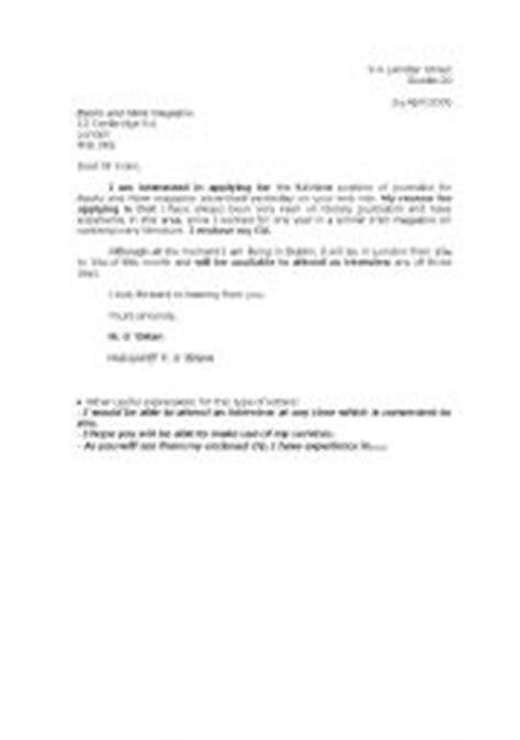 Covering Letter Example For Administrative Position
