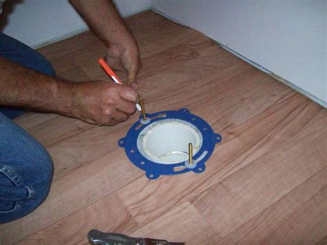 Toilet Flange On Concrete Floor by Mike And S World Chapter 31 Toilet Install And