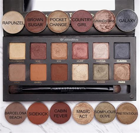 Eyeshadow Abh makeup dupes for abh master palette by mario makeup