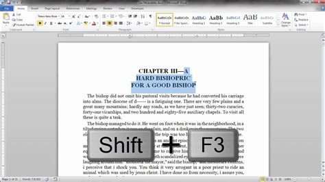 Letter Capital In Word
