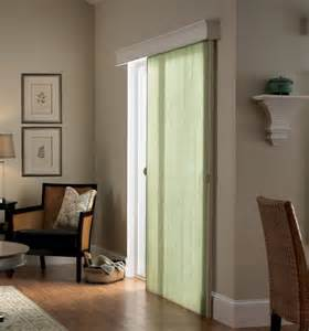 Bali Natural Drapes Verticell In Northern Lights Bisque Green With Noble Wood