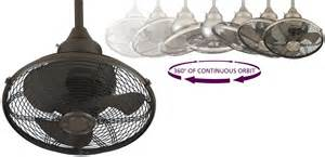 patio fans free standing mountable  ofob extraordinaire caged  oil rubbed bronze ceiling fan