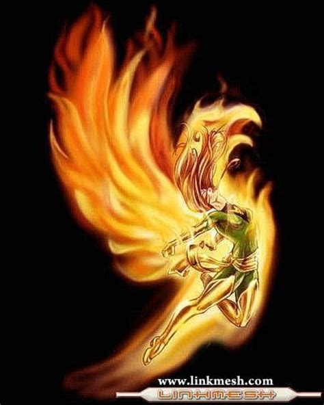 phoenix tattoo x men mujer fenix ave fenix