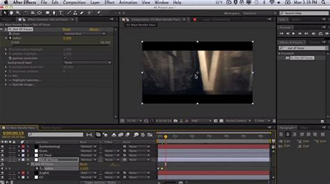 after effects tutorial shockwave text effect part 2 2 constructing quot the trailer quot in after effects part ii