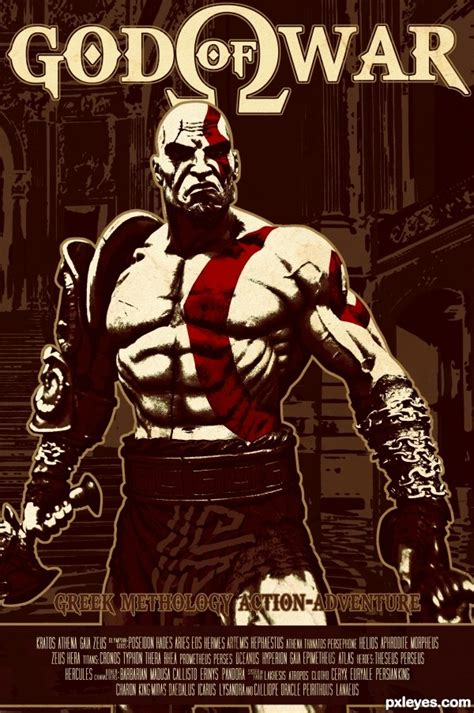 god of war film bg audio god of war picture by macarhign for retro posters