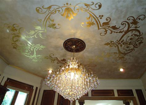 gold leaf ceiling design jelber s decorative arts