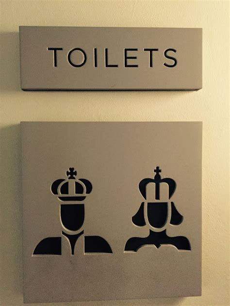 Cing Toilet Design by 266 Best Restroom Signs Images On Pinterest Bathroom