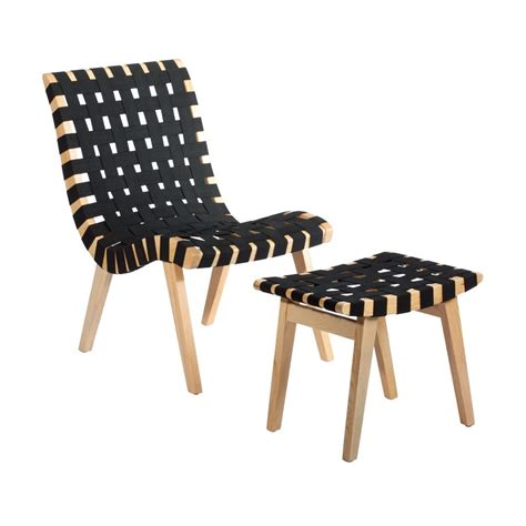 Jens Risom Lounge Chair by Replica Jens Risom Lounge Chair With Ottoman