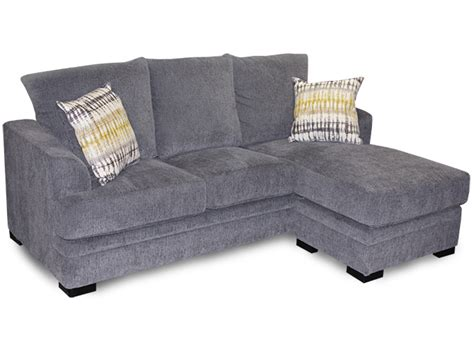 chaise lounge perth perth smoke sofa with chaise bailey s furniture