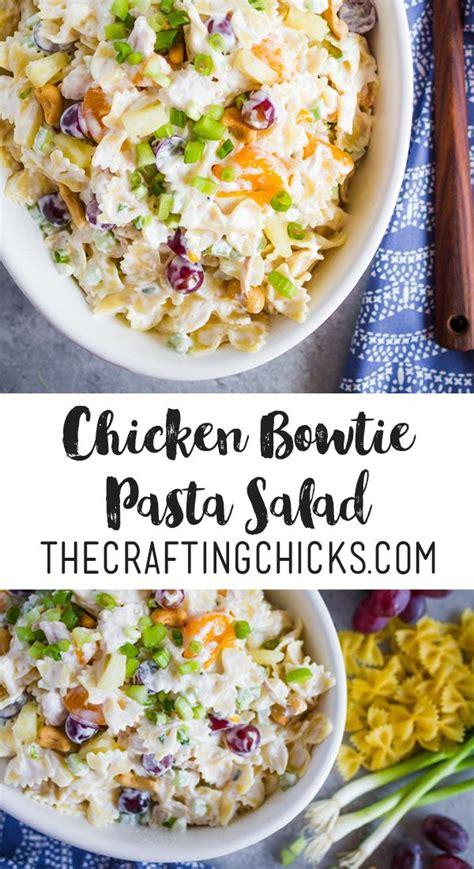 diy best pasta salad recipes diy ideas tips best diy crafts ideas chicken bowtie pasta salad the