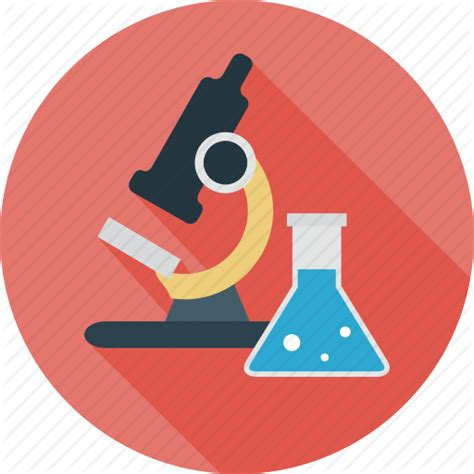 icon design research lab microscope research science testing icon icon