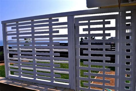 Front Door Window Treatments Ideas - custom built wood trellis with entry gate malibu ca contemporary entry los angeles by