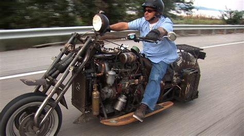 mercedes motorcycle mercedes rat rod motorcycle is the coolest bike this