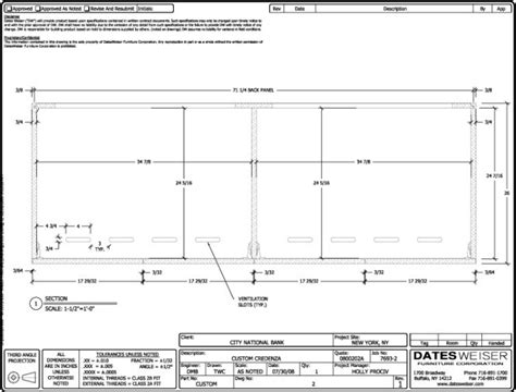 section 8 national city datesweiser furniture corp 3d cad drafting by travis coe