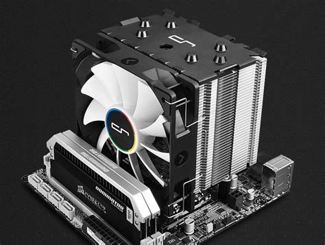 Cryorig H7 Entry Level Cooler h7 cpu cooler from cryorig has zero ram interference