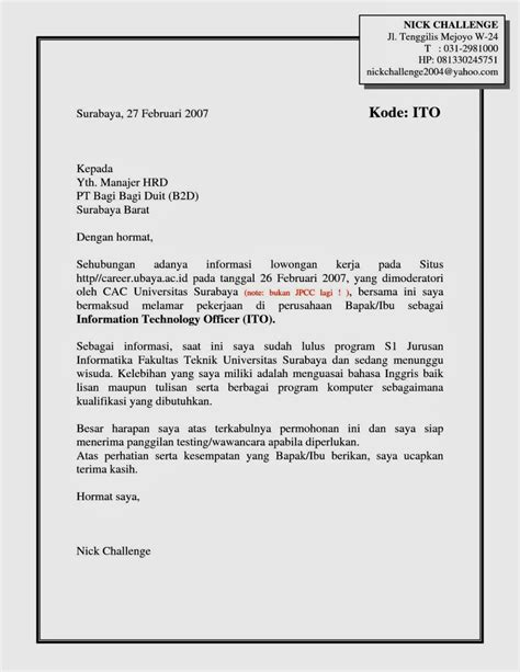 Contoh Surat Perjalanan Dinas Direksi by Cover Letter For Reentering Workforce Resume