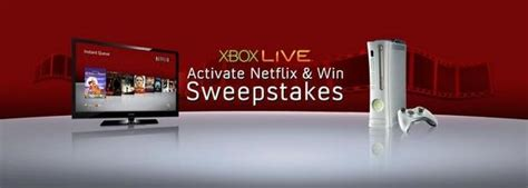 Netflix Sweepstakes - xbox live netflix contest could win you a home theater gematsu