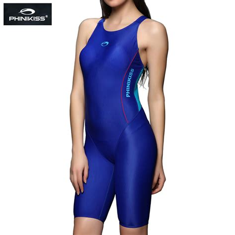 pic of men wearing womens one piece swimsuits phinikiss women triathlon suit blue slimming sports one