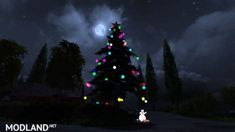 christmas tree mod v 2 0 mod for farming simulator 2015