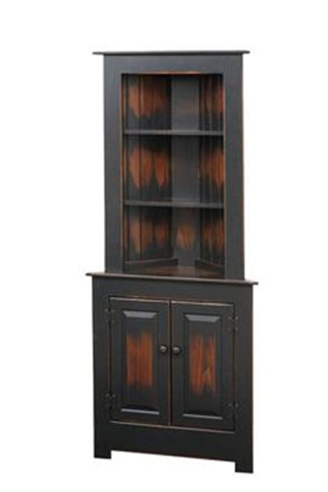 amish plymouth corner hutch 1000 ideas about bar hutch on pinterest armoire bar
