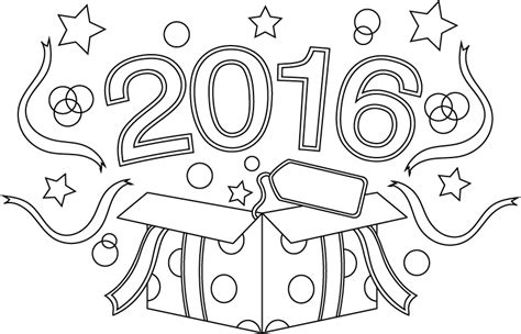 new year color page 2016 december coloring challenge the coloring book club