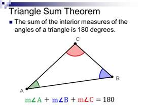 Interior Triangle Angles by To Nearest Tenth Ppt