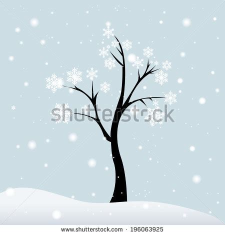abstract vector winter tree design winter tree topic image 2 eps10 stock vector 511248205