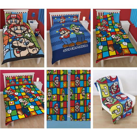 brothers bedding official nintendo super mario brothers bedding duvet cover