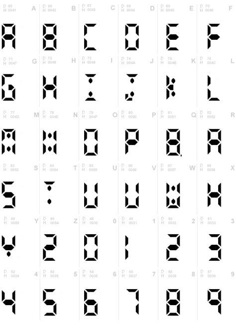 calculator font calculator digits font download calculator digits ttf