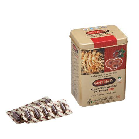 Ginseng Di Korea gintamin estratto di ginseng coreano capsula supplemento