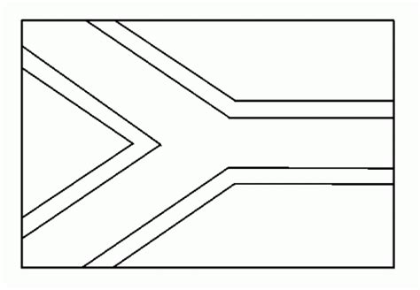 South African Flag Coloring Pages South Flag Coloring Page
