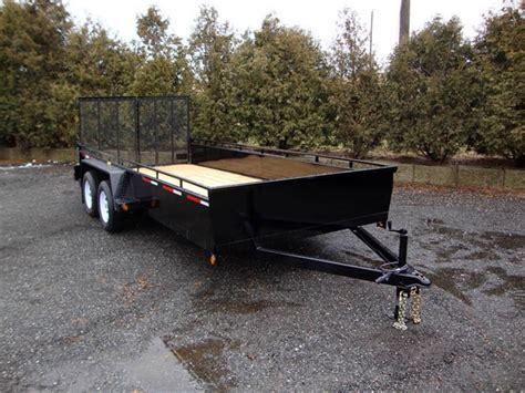 utility trailer tandem for sale canada