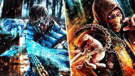 Imagenes De Scorpion Vs Sub Zero | scorpion vs sub zero all intros mkx youtube