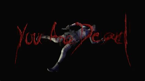 Youre Was Dead retrovolve the thing i did in resident evil hd was die