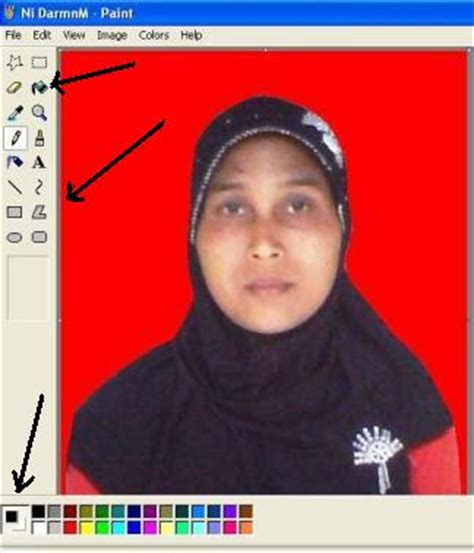 Cara Edit Foto Di Photoshop Buat Ktp | belajar bersama jarak jauh cara mengedit foto untuk ktp