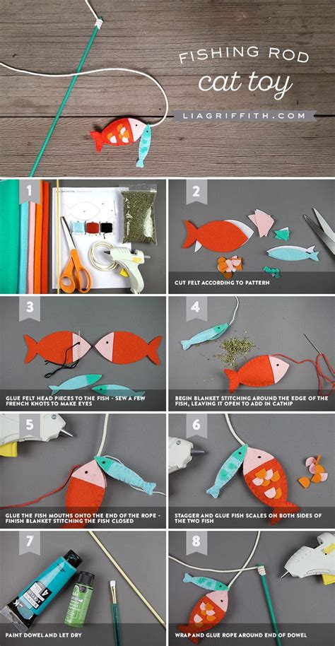 Diy Cat Toys From Marmalade by Make A Diy Fishing Pole Cat In 8 Easy Steps Gato