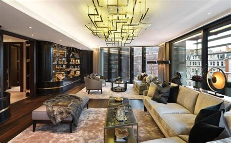 One Hyde Park Interior by Apartment Lighting Solutions Trendy Loft Apartment Design