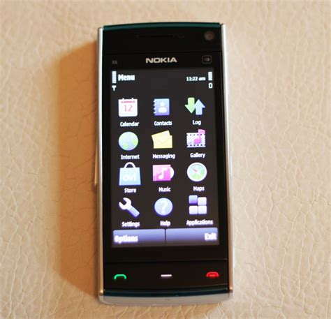 themes nokia x6 nokia x6 32gb mobile phones reviews themes new style for