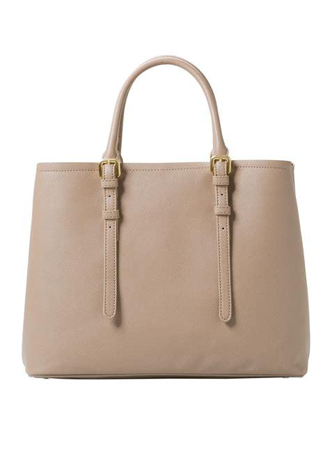 Mango Tote Bag mango adjustable tote bag in beige brown lyst