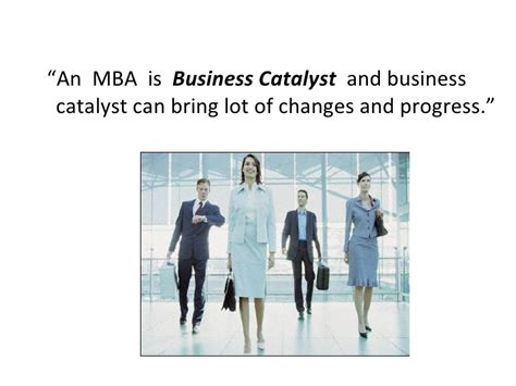 Mba Roles And Responsibilites by For Mba S In Industry