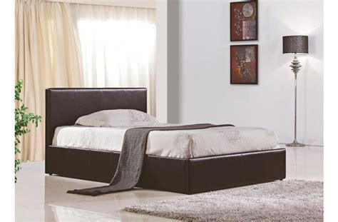 faux leather ottoman storage bed berlin ottoman storage bed faux leather beds fads