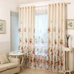 Material For Kitchen Curtains Aliexpress Buy 2016 Printed Shade Window Blackout Curtain Fabric Modern Curtains For