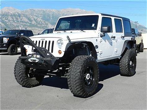 Best Tires For Jeep Wrangler Unlimited Purchase Used Jeep Wrangler Unlimited 4x4 Top Custom