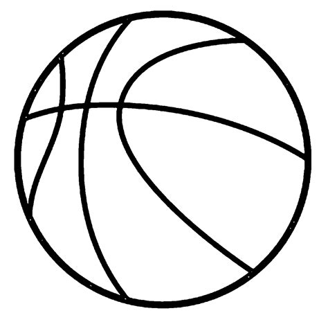 Balls Coloring Pages Ball Coloring Page Coloring Home