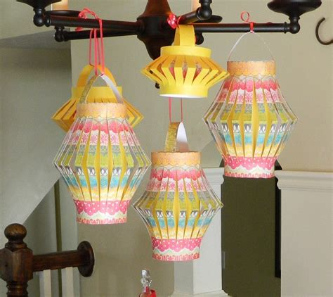 How To Make A Paper Lantern Easy - diy paper lanterns