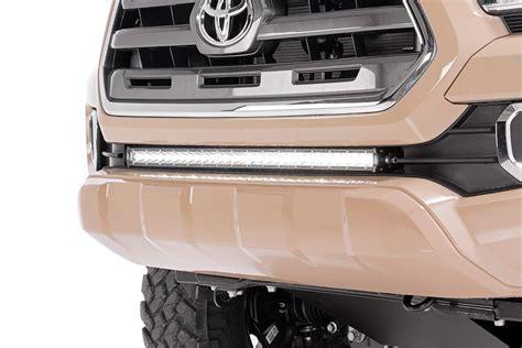 light bar for 2017 tacoma 30in single row led light bar hidden bumper kit for 2016
