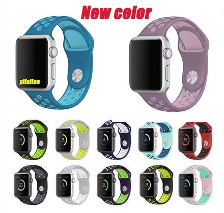 Sport Silicone Band Nike Series For Apple 42mm Nike Series New 3 yifalian watchbands silicone for nike sports band for apple series 3 2 1 42mm