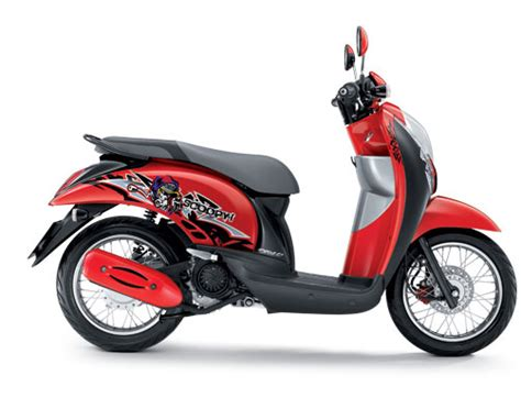 Lu Motor Scoopy facelift honda scoopy thailand mangstapppp arif